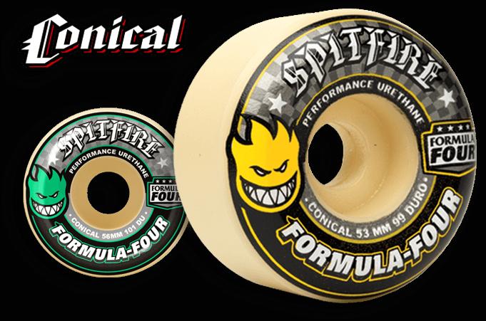Spitfire Forumla 4 99Du Conical Wheel